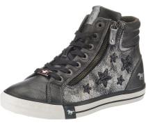 Sneaker graphit / silbergrau / naturweiß