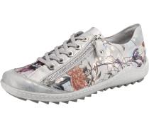 Sneakers mischfarben / silber