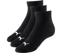 Socken weiß / schwarz