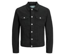 Jeansjacke mischfarben / schwarz