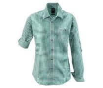 Hemd grün / weiß