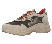 Sneaker oliv / offwhite
