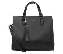 Handtasche 'maxima M' schwarz
