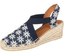 Sandaletten 'Terra-Gr' beige / blau