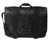 Messenger Bag 'camo' schwarz