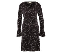 Kleid 'spot Crinkled Dress' schwarz