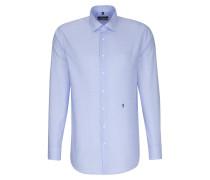 City-Hemd ' Comfort ' blau