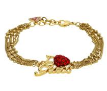 Armband 'ubb81053' gold / rot