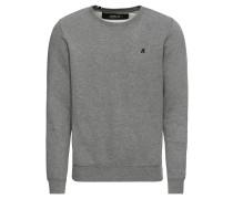 Pullover 'Sweatshirt' graumeliert