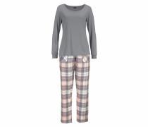 Pyjama grau / rosa