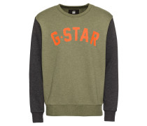 Sweatshirt 'Halgen core r sw l/s' oliv