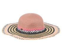 Hut 'Ciao Hat' braun / rosa / schwarz