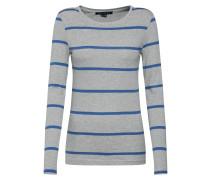 Shirt 'Novel' blau / grau