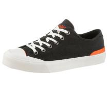 Sneaker dunkelorange / schwarz / weiß
