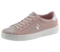 Sneaker 'Goldie - Shiny Quilter' rosa