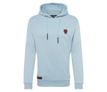 Sweatshirt 'keeper' hellblau