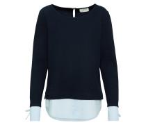 Pullover hellblau / dunkelblau / weiß