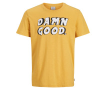 Statement T-Shirt gelb