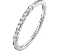 Ring '87304418' silber / weiß