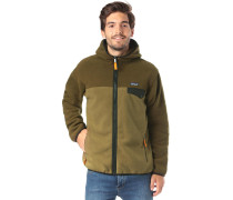 'LW Synch Snap' Outdoorjacke oliv