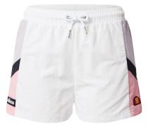 Shorts 'Poscuro' weiß