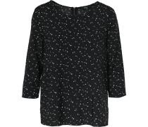 Blusenshirt schwarz / weiß