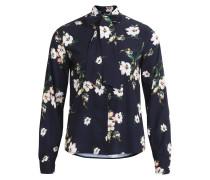 Blumenmuster Hemd navy / mischfarben