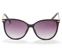 Sonnenbrille schwarz / gold