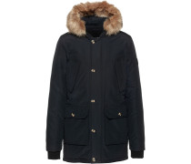Parka 'Hollow Talk' schwarz