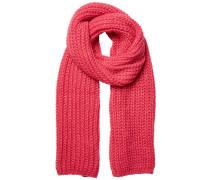 Strick Schal pink