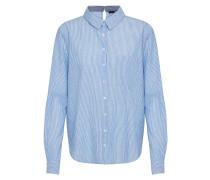 Bluse 'gamico' blau / weiß