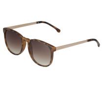 Sonnenbrille 'Urkel' braun / rosé