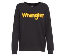 Sportliches Sweatshirt gelb / schwarz