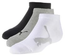 Socken grau / schwarz / weiß