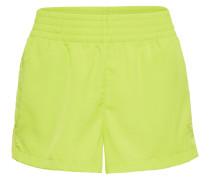 Shorts 'high Waist ' gelb