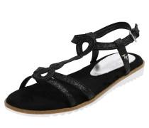 04815ef34c39b5 Sandale schwarz. Tom Tailor