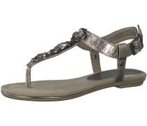 Sandale 'Glitzer Sandale Metallic'
