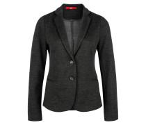 Weicher Jersey-Blazer grau