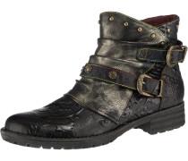 Boots 'Biker' mischfarben / schwarz