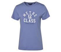 T-Shirt navy / royalblau / weiß