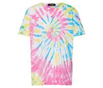 Shirt 'away-T1' blau / gelb / pink