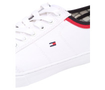 Canvas-Sneaker weiß
