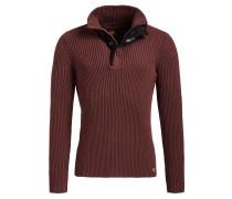 Pullover 'uvega' burgunder