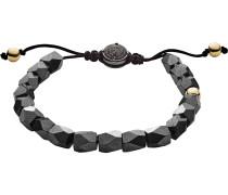 Armband 'dx1136710' gold / anthrazit