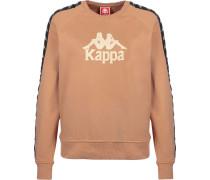 Sweatshirt 'Tagara' schwarz / creme / cognac