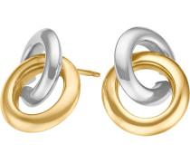 Ohrstecker gold / silber
