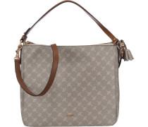 Handtasche 'Athina L' beige / camel / braun
