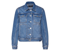 Jeansjacke 'june' blue denim