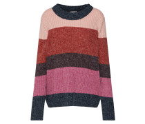 Pullover anthrazit / pink / rot
