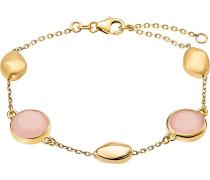 Armband gold / altrosa